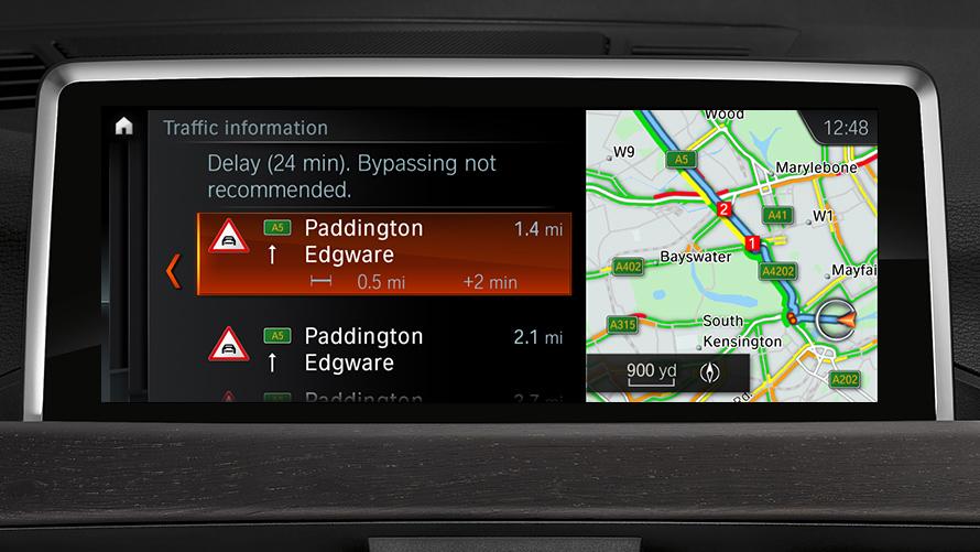 BMW X1 : Services & Apps