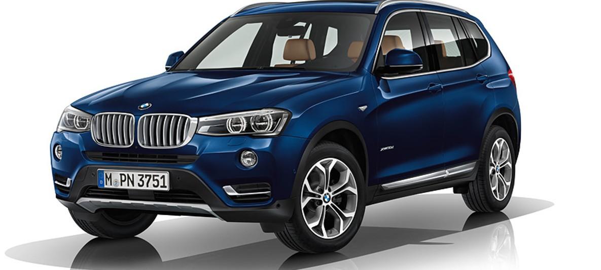 BMW X Lines Equipment - Blue bmw x3