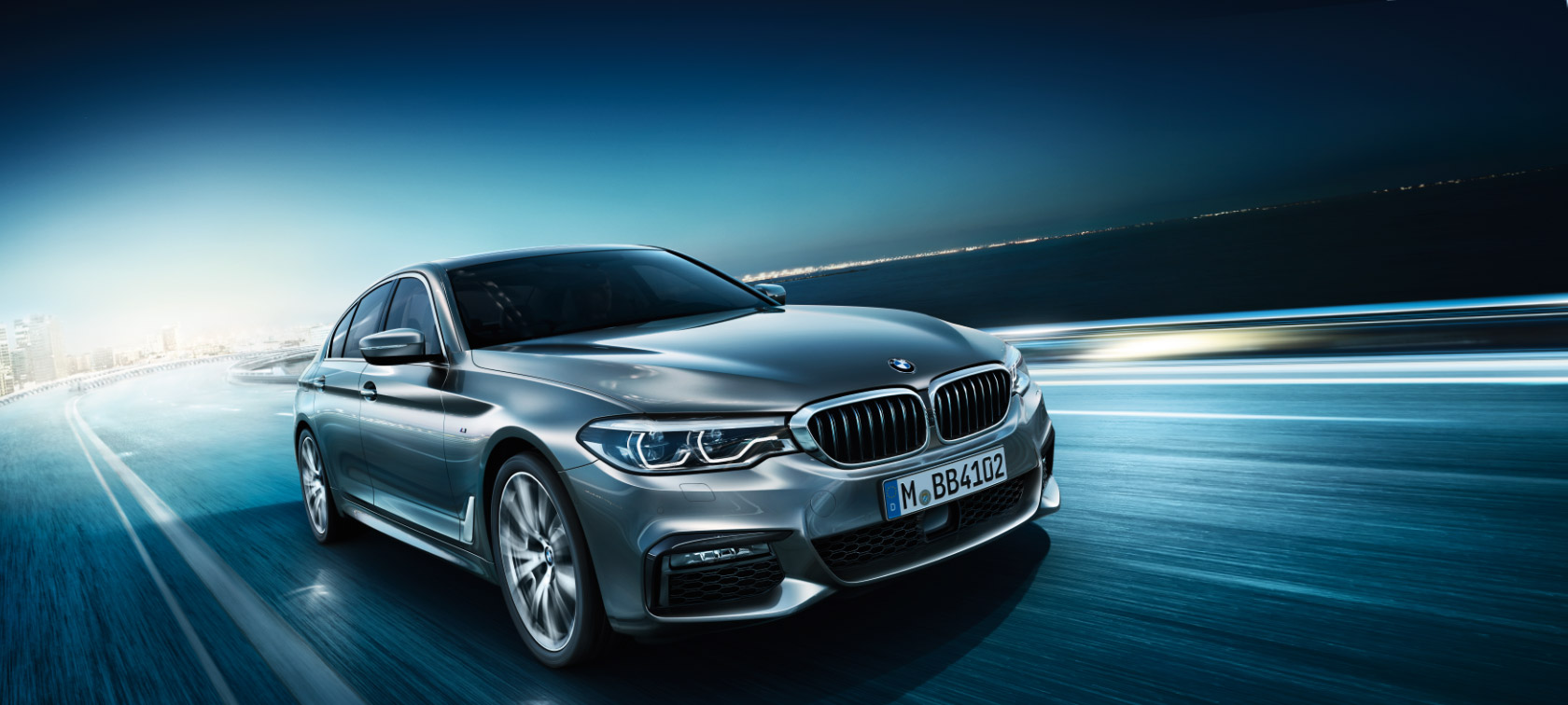 The new BMW 5 Series Sedan